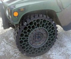 Zombie proof airless tires