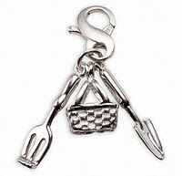 Buy 1 Charm Get 1 50% off at Carolee.com. Sterling Silver Gardening Tools Charm $55.00.   A great gift for my step mom