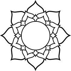 clipartist.info Lotus black white line art tattoo tatoo flower SVG - ClipArt Best - ClipArt Best
