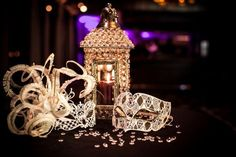 fantasy elegant masquerade ball wedding | fancy masquerade wedding! | Masquerade Ball themed wedding