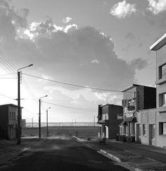 Gabriele Basilico : Merlimont Beach (1985) | Photo © Gabriele Basilico