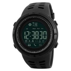 Buy New Bluetooth Smart Watch Skmei For Apple Ios Android Digital Smartwatch Waterproof Fashion Pedometer Sport Watches at Wish - Shopping Made Fun Men's Watches, Watches Online, Luxury Watches, Fashion Watches, Watches For Men, Wrist Watches, Cheap Watches, Casual Watches, Waterproof Sports Watch