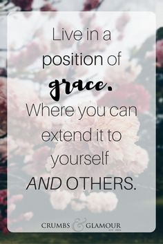Having grace. Giving up perfection. Overcoming anxiety. Christian growth. Christian encouragement.