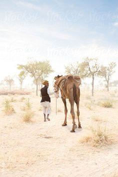 People of the Rajasthani Desert. India by Hugh Sitton - Stocksy United Water Issues, Bhutan, Incredible India, Afghanistan, Maldives, Sri Lanka, Nepal, Deserts, Asia