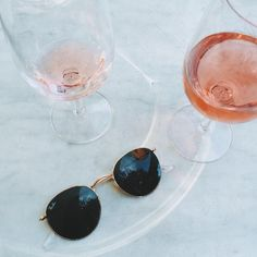 Rosé and sunnies is summer