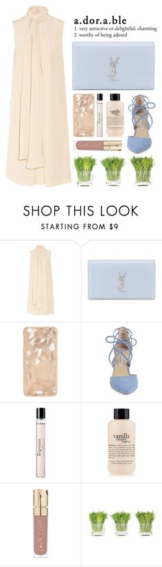 """""""nude"""" by laughtersassassin ❤ liked on Polyvore featuring Chloé, Yves Saint Laurent, Kristin Cavallari, Repetto, philosophy, Smith & Cult, NDI, fresh and nude"""