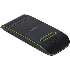 Travel Perks - Soundflow Portable Speaker (green and black), $34.95 (http://www.shoptravelperks.com/soundflow-soundflow-portable-speaker-green-and-black/)