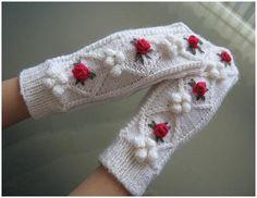 Mimmin käsitööd Crochet Mittens, Crochet Gloves, Mittens Pattern, Knitted Hats, Knit Crochet, Irish Lace, Scarf Hat, Hand Warmers, Diy Clothes