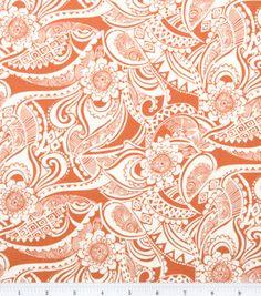 Keepsake Calico Fabric-Floral Orange: keepsake calico fabric: quilting fabric & kits: fabric: Shop | Joann.com