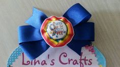 Blue Hair Bow, Autism Awareness Hair Bow, Hair Bows, Baby Hair Bows, Hair Bows for Girls, Bows - pinned by pin4etsy.com