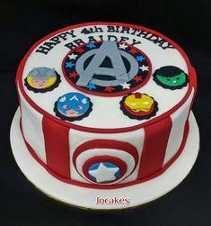 avengers birthday cake - Buscar con Google