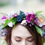 Vibrant Colors Spotted on Beautiful Flower Crown