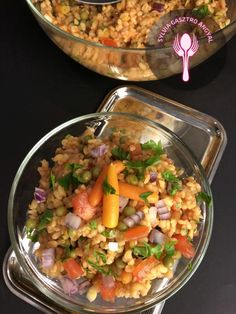 Zöldséges bulgur saláta – Sylvia Gasztro Angyal Vegan Vegetarian, Vegetarian Recipes, Paleo, Cooking Recipes, Healthy Recipes, No Cook Meals, Healthy Living, Food And Drink, Yummy Food