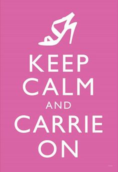 """CARRIE ON!!!  Olga Glance: """"More like Samantha on for you, girl!""""   http://pinterest.com/ohhhgeee/"""