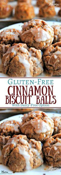 Gluten-Free Cinnamon Biscuit Balls | www.mamaknowsglutenfree.com