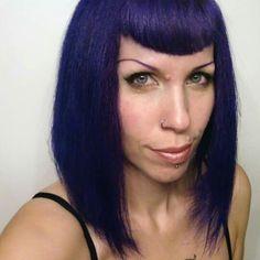 Crazy Color -- Hot Purple Crazy Color Hot Purple, Crazy Colour, Hair Colour, My Hair, Make Up, Style, Swag, Stylus, Makeup