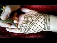 2 تعليم نقش الحناء للمبتدئين رسمة خفيفة و بسيطة على ظهر اليد من قناة عالم النقش بالحناء Youtube Henna Designs Henna Designs Easy Simple Mehndi Designs