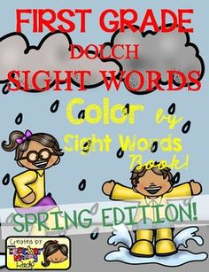Create a book with this 13 Color by Sight Word pages using all the 41 First Grade Dolch Sight Words.  A cover page for the book and a page with a list of the dolch sight words are included for a total of 15-page book.  Complete 41 FIRST GRADE Dolch Sight Words or high frequency words Included: after, again, an, any, as, ask, by, could, every, fly, from, give, giving, had, has, her, him, his, how, just, know, let, live, may, of, old, once, open, over, put, round, some, stop, take, thank…