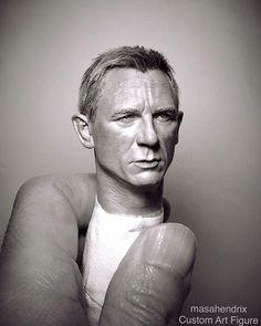 1/6 scale Custom Art Figure作品集。 . Daniel Craig 007