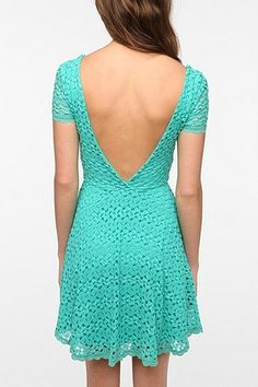 UrbanOutfitters.com > Staring at Stars Crochet Circle Dress