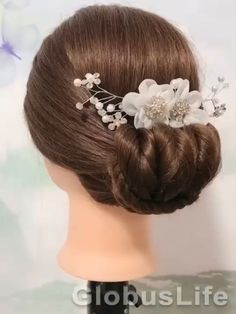Easy Hairstyle Video, Easy Hairstyles For Long Hair, Braided Hairstyles, Updo Hairstyle, Prom Hairstyles, Short Hair Makeup, Blonde Hair Makeup, Hair Up Styles, Medium Hair Styles