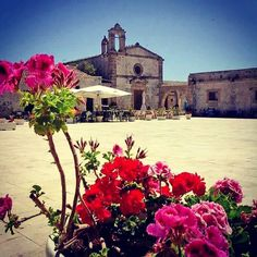 This is Marzamemi, a lovely town near Siracusa