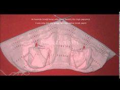 Yakadan başlamalı örgü bebek yeleği yapılışı - YouTube