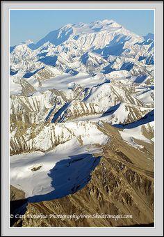 Mt. Logan and the University Range, from Wrangell St. Elias National Park, Alaska
