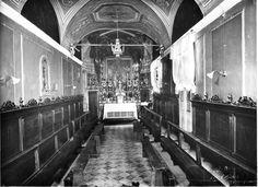 Siamo alla fine del '500, a Macerata, fondate dai Gesuiti, ci sono quattro Congregazioni: quella dei Nobili, degli Scolari, dei Contadini e dei Mercanti e Artisti; sono associazioni benefiche a carattere religioso il cui scopo è di affratellare i diversi ceti sociali e di promuovere opere caritatevo