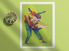 Swing dance designed by Loreta Isac. the global community for designers and creative professionals. Dance, Creative, Illustration, Fictional Characters, Art, Dancing, Art Background, Kunst, Illustrations