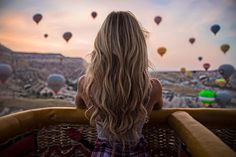 """""""Hypnotised by the surreal landscape that is Cappadocia"""
