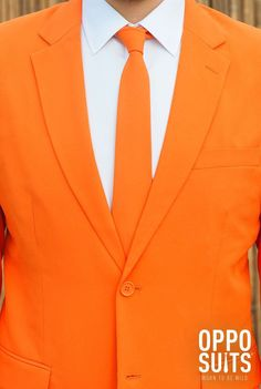 Men's Suits with Awesome Patterns and Designs! Dragons Love Tacos, Orange Suit, Partys, Prom Night, Orange Is The New Black, Mens Suits, Favorite Color, Cool Designs, Suit Jacket
