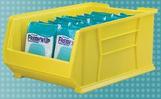 Organize your larger medical supplies with Akro-Mils Super-Size AkroBins! #medical #5S Lean #hospital
