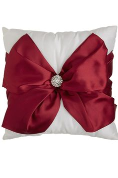 Red Bow Pillow | The House of Beccaria~