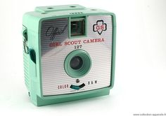 Herbert George Official Girl Scout Camera, made in USA, 1961