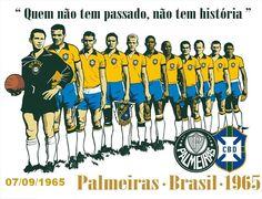Palmeiras-Brasil: 07/09/1965