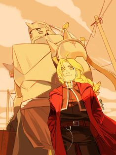 I only have to thank my sister and my friends if I - finally - got into the fma world. It was the best present.♡