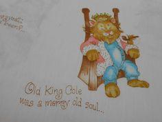 Vintage Nursery Rhyme Fabric