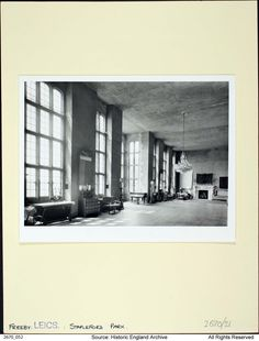 Stapleford Park, Freeby   Card 2670052   England's Places   Historic England Book Images, Us Images, Tower Hamlets, London Museums, Listed Building, New Details, East Sussex, First World, England
