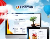Marketing Agency by Jarek Pastuszak, via Behance