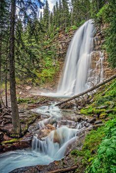 Virginia Falls - Virginia Falls in Glacier National Park, Montana