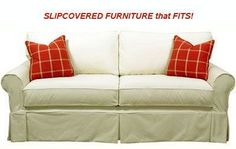 Cottage Furniture | Slipcovered Sofas | American Country. Our Slipcovered Sofas are available in many styles for your comfort and preference. Select fully upholstered or slipcovered. #cottagefurniture #slipcoveredsofas