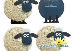 shaun het schaap rijstwafel traktatie Shaun the Sheep as a toddler and preschooler treat from a rice Farm Birthday, Toy Story Birthday, Toy Story Party, Birthday Treats, Diy Birthday, Birthday Gifts, Diy For Kids, Crafts For Kids, Diy Crafts