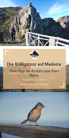 Wanderung vom Pico do Arieiro zum Pico Ruivo - die Toptour auf Madeira #hiking #outdoor #wandern #trekking #berge