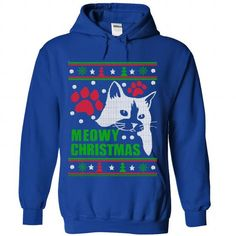 your family and friend:  Meowy Christmas Tee Shirts T-Shirts
