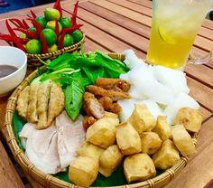 Hanoi Cuisine: Bun Dau Mam Tom