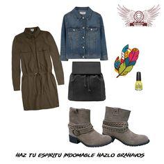 Look casual.  Boots Camp Gamuza diseñadas en piel. De venta en www.kichink.com/stores/brahavoscalzado