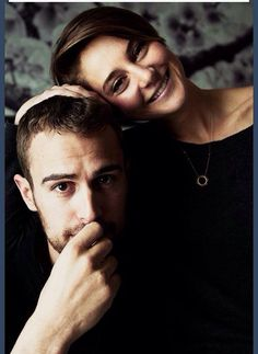 Love Shailene and Theo:-) THIS IS SO FREAKING ADORABLE