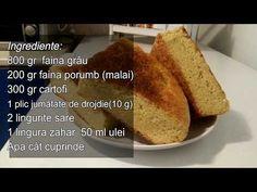 Paine cu cartofi si malai - YouTube Banana Bread, French Toast, Breakfast, Desserts, Youtube, Food, Morning Coffee, Tailgate Desserts, Deserts