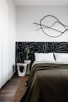 Graffito Fabric by Kelly Wearstler Kelly Wearstler, Interior Design Awards, Home Interior Design, Design Interiors, Interior Paint, Room Interior, Luxury Home Decor, Luxury Homes, Modern Bedroom